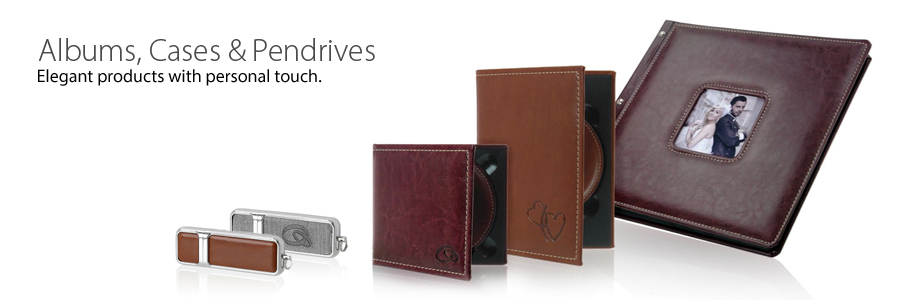 Decorative Disc Cases and Photo Albums, made only of the highest quality materials available.