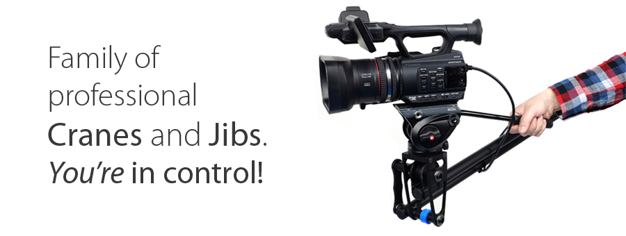 Professional, easy and lightweight Video Cranes will make your imagination soar.  Just like a bird!